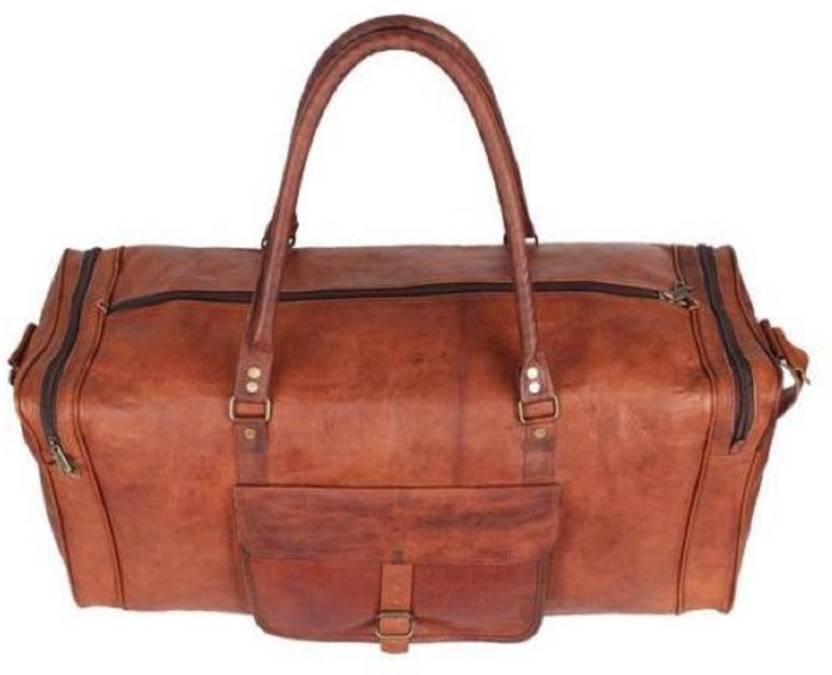 d2c95e6db539 Craft Guru Crafts60 Travel Duffel Bag Brown - Price in India ...