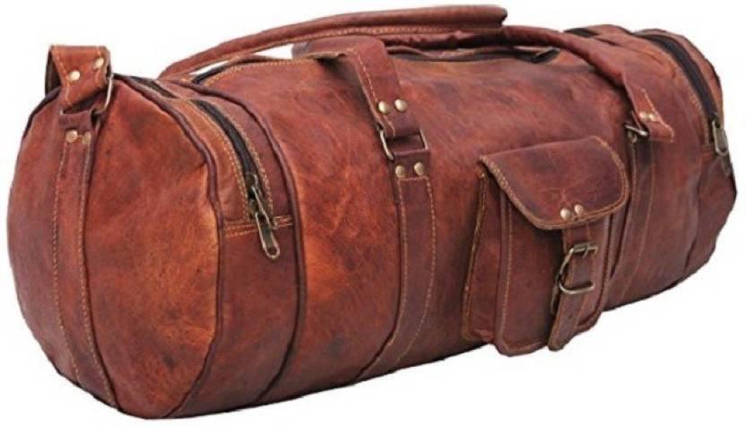 d565c58d75f2 Craft Guru Crafts57 Travel Duffel Bag Brown - Price in India ...