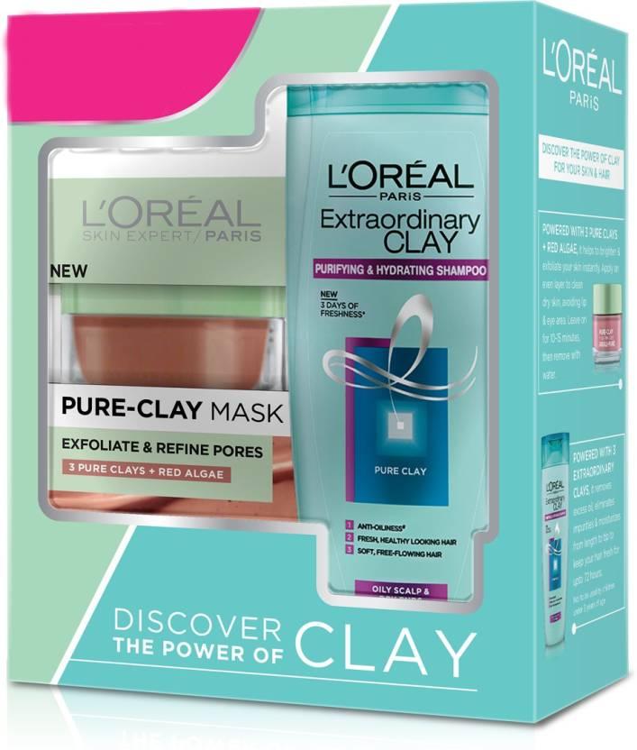 6e8ae2f0a48 L'Oreal Pure Clay Mask Red Algae - Price in India, Buy L'Oreal Pure ...