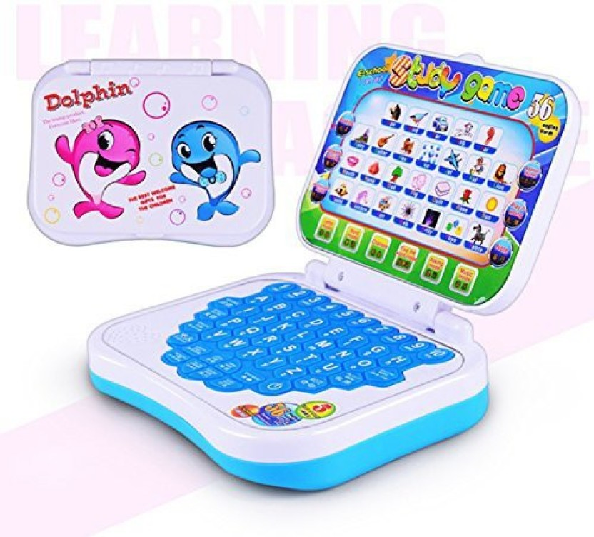 Baby Computer Kids Pre School Educational Learning Study Toy Laptop Game Gift LY