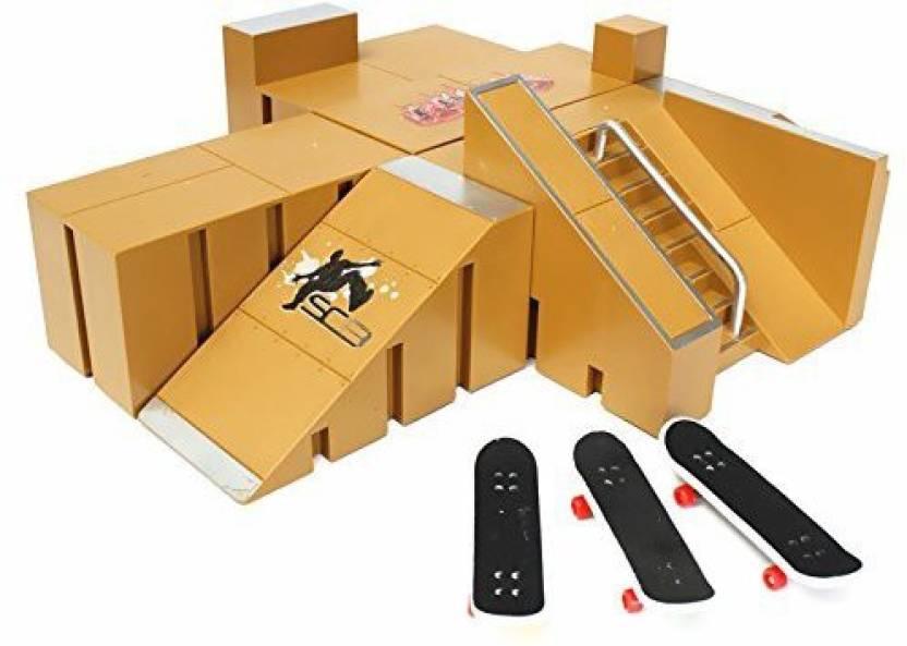 Generic Skate Park Ramp Parts For Tech Deck Fingerboard