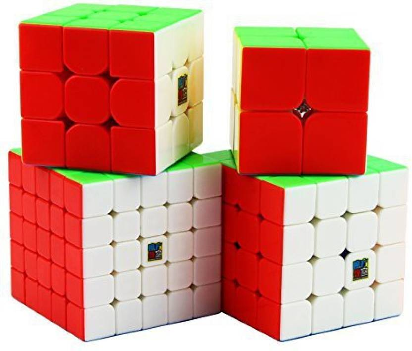 bda5b10c4a52 Dreampark Moyu Speed Cube 2X2 3X3 4X4 5X5 Stickerless Smooth Magic ...