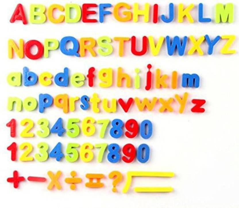 Generic Magnetic Letters Numbers And Math Symbols Educational