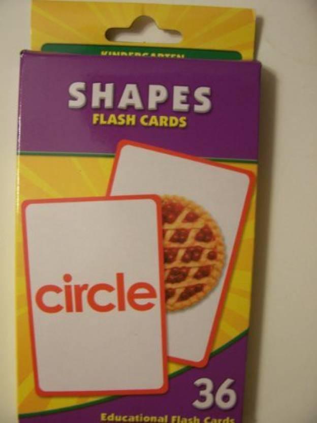 095e67afb Greenbrier Educational Flash Cards ~ Shapes (36 Flash Cards  Kindergarten)  (Multicolor)