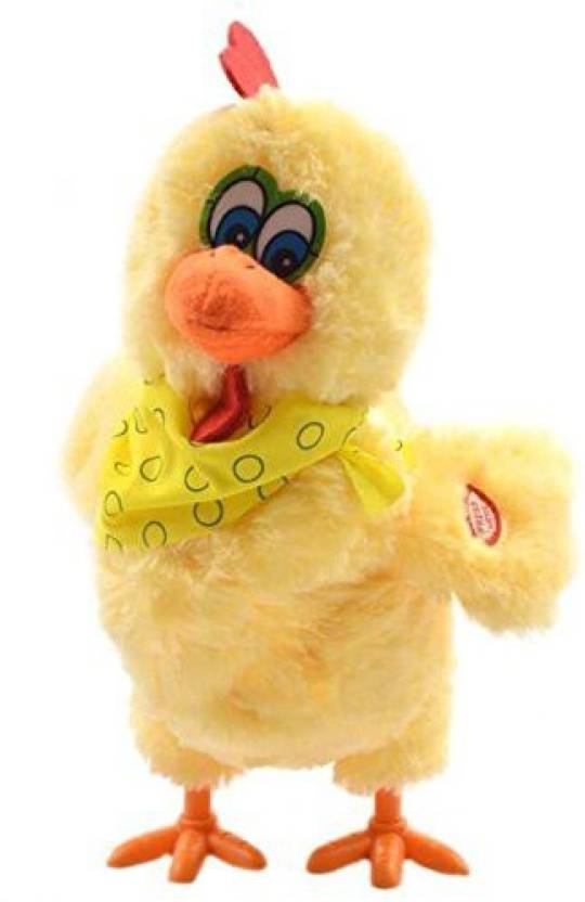 Mr Teck Funny Hen Chicken Toy Trick Music Lay Egg Joke Electric Toys