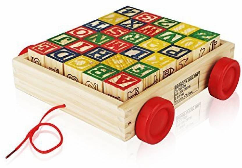 Generic Wooden Alphabet Blocks Best Wagon Abc Wooden Block Letters
