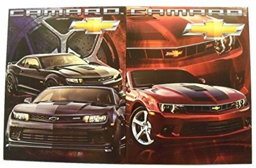 Generic Muscle Car 2 Folder Set ~ Chevrolet Camaro (Black