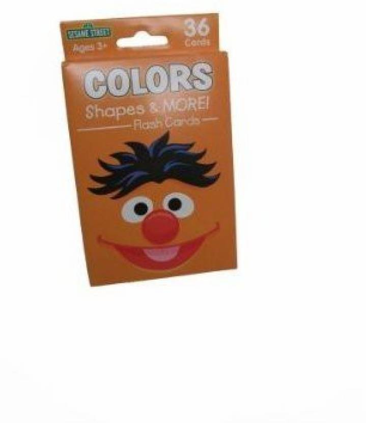 451f8748b03 Sesame Street 123 Flash Cards Colors Shapes And More! Price in India ...