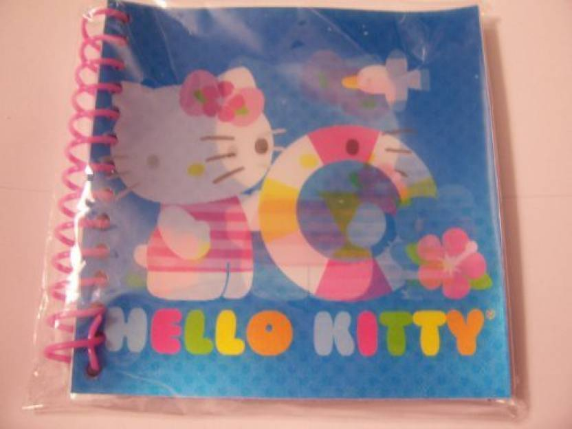 605c4623b Generic Hello Kitty Lenticular Journal ~ Summer Kitty With Mouse (60  Sheets, 120 Pages) (Multicolor)