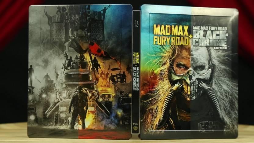 mad max fury road black chrome edition steelbook 2 disc