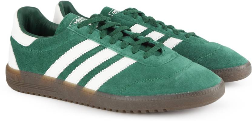 half off 6b239 3d13c ADIDAS ORIGINALS INTACK SPZL Sneakers For Men (Green)