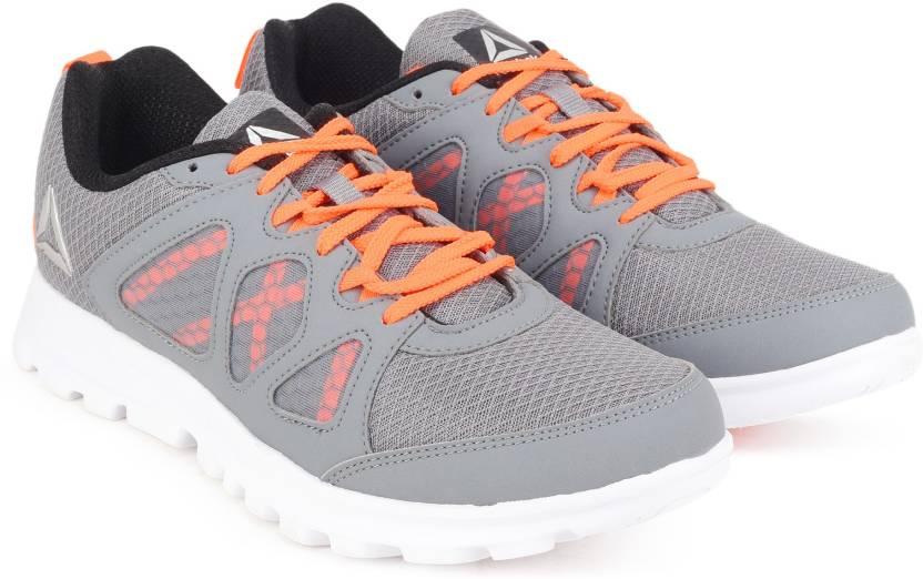 43dbaf8148552e REEBOK RUN AFFECT Running Shoes For Men - Buy DUST ORANGE BLK SLVR ...