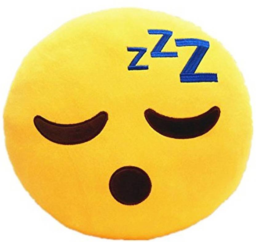 Pandora Premium Quality Sleeping Soft Smiley Cushion - 35 Cm - 35 cm