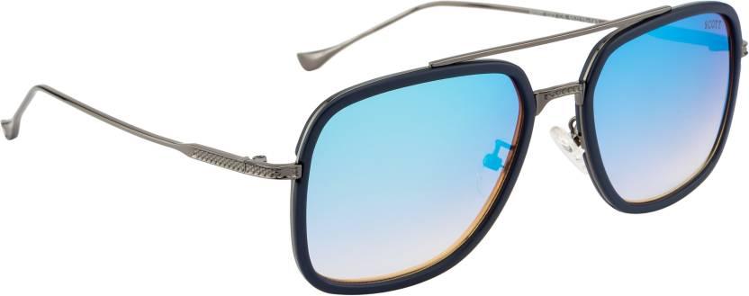 a331527a63b Buy Scott Aviator Sunglasses Blue For Men   Women Online   Best ...