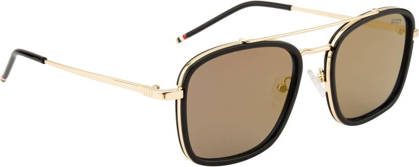 4eae47d88c0 Buy Scott Aviator Sunglasses Grey