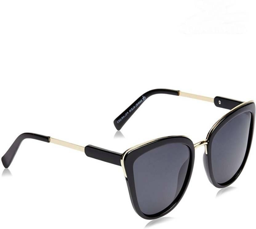 8b0f01819ade Buy Daniel Klein Cat-eye Sunglasses Black For Women Online @ Best ...