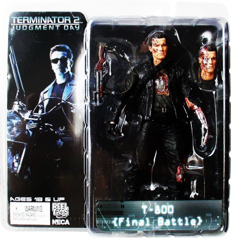 T-800 7 inch Video Game Figure Terminator 2 NECA Free Shipping!