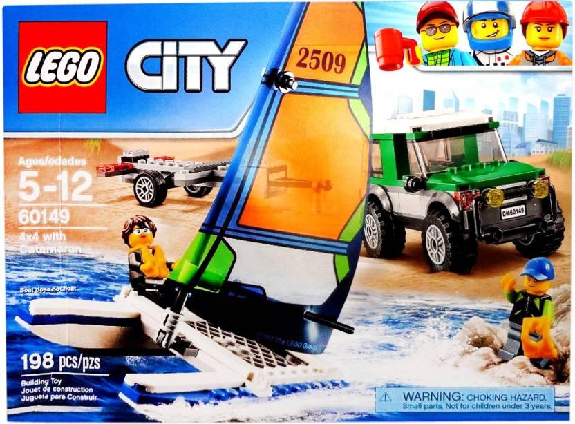 60149Buy Lego Toys With X 4 In City Catamaran OPikZTXu