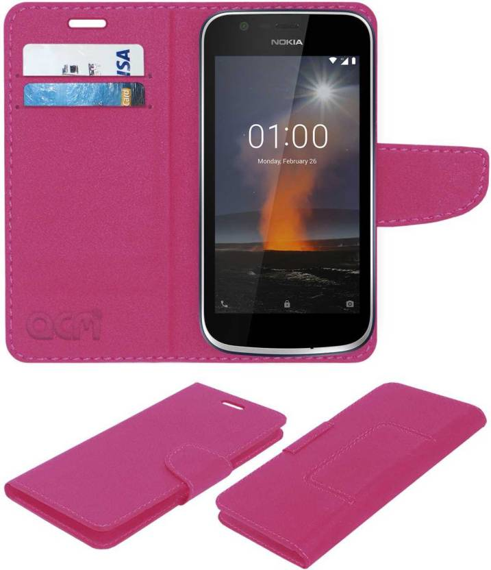 buy online 48e40 49422 ACM Flip Cover for Nokia 1 - ACM : Flipkart.com