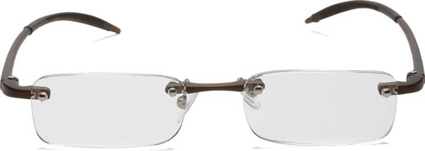 b04a37e60c5 Titan Rimless (+2.75) Rectangle Reading Glasses Price in India - Buy ...