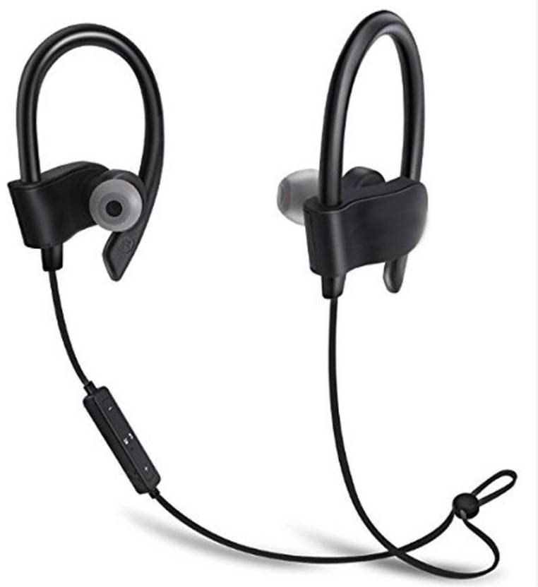 6ad44194934 Blue Birds Best Buy Powerful Boom Beats Stereo sound With Deep Rich Bass  wireless/bluetooth Qc-10 Bluetooth Headset with Mic (Black, In the Ear)