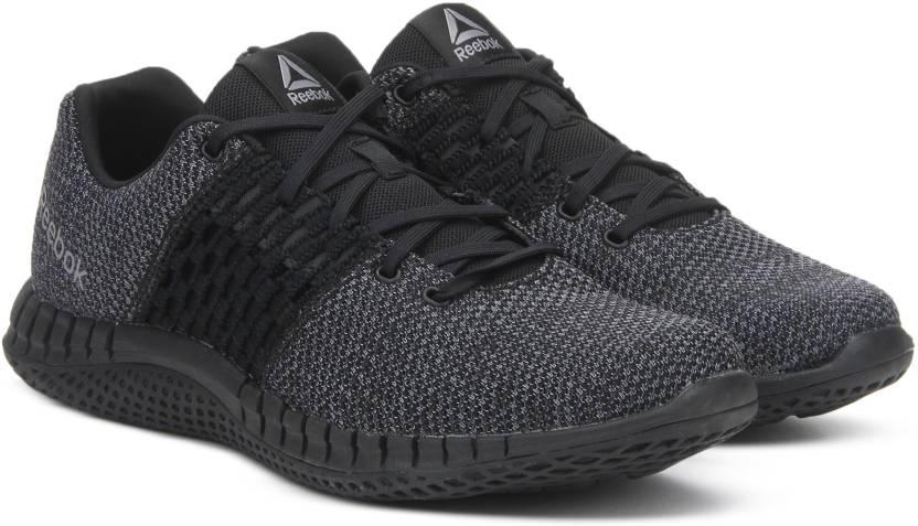 REEBOK PRINT RUN ULTK Running Shoes For Men - Buy BLK COAL DUST WHT ... 8385d70eb