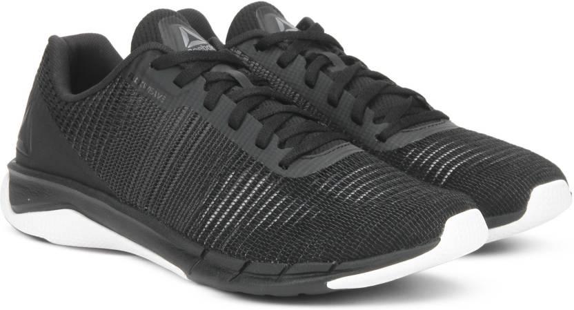 45b31710a429 REEBOK FSTR FLEXWEAVE Running Shoes For Men - Buy BLACK ASH GREY ...
