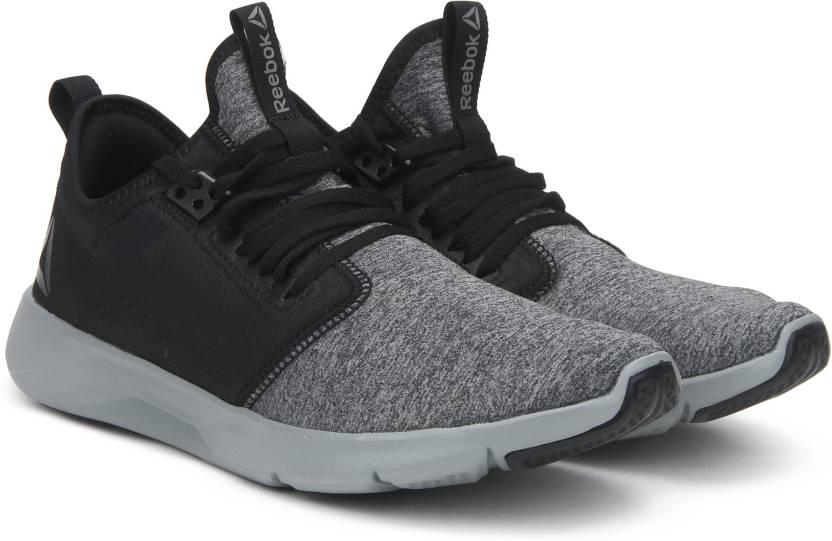 5bf8e55b6f4 REEBOK PLUS LITE 2.0 HTHR Running Shoes For Men (Black