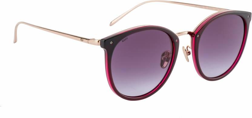 6e4f1f9018c Buy Scott Cat-eye Sunglasses Violet For Women Online   Best Prices ...