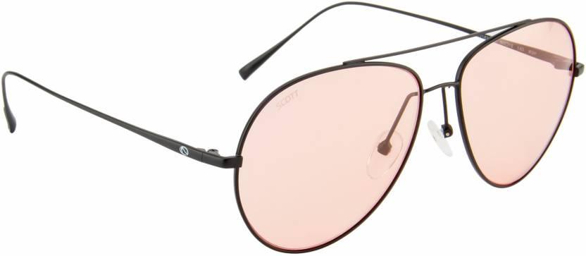 6112e7f2a18 Buy Scott Aviator Sunglasses Pink For Men   Women Online   Best ...