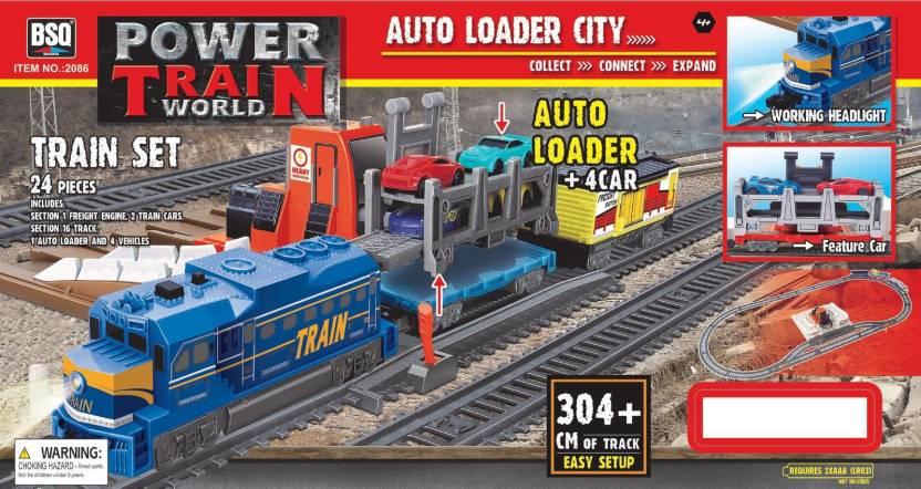 Power Train TurboS Auto loader City Train Set (2086)