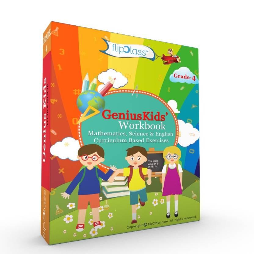 Genius Kids Worksheets (Bundle) for Class 4 (Grade-4) - Set of 6 ...