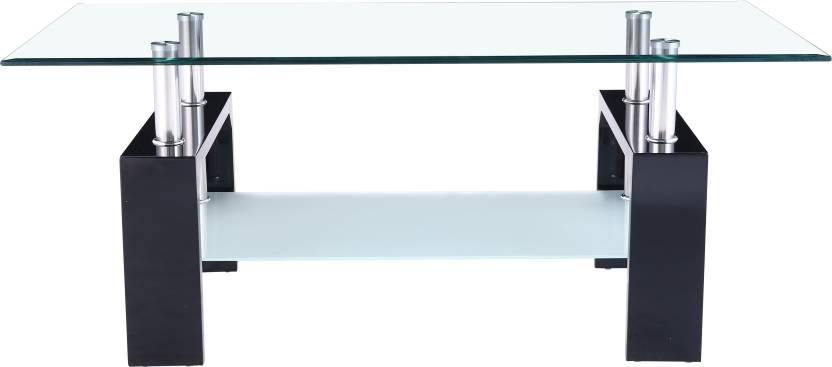 Flipkart Perfect Homes Dorn Glass Coffee Table  (Finish Color – Glass) at ₹5,507