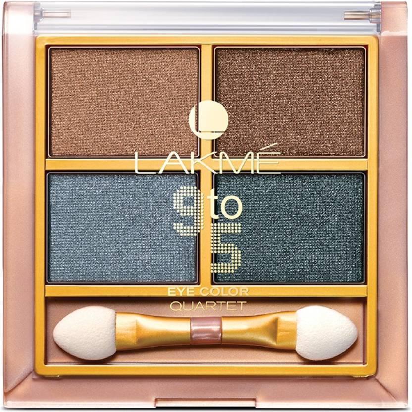 Lakme 9 to 5 Eye Quartet 7 g (Smokey Glam)