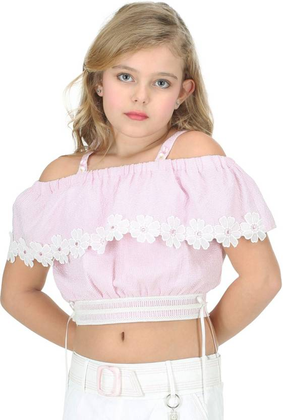 88e1820801d8d Cutecumber Girls Party Cotton Crop Top Price in India - Buy ...