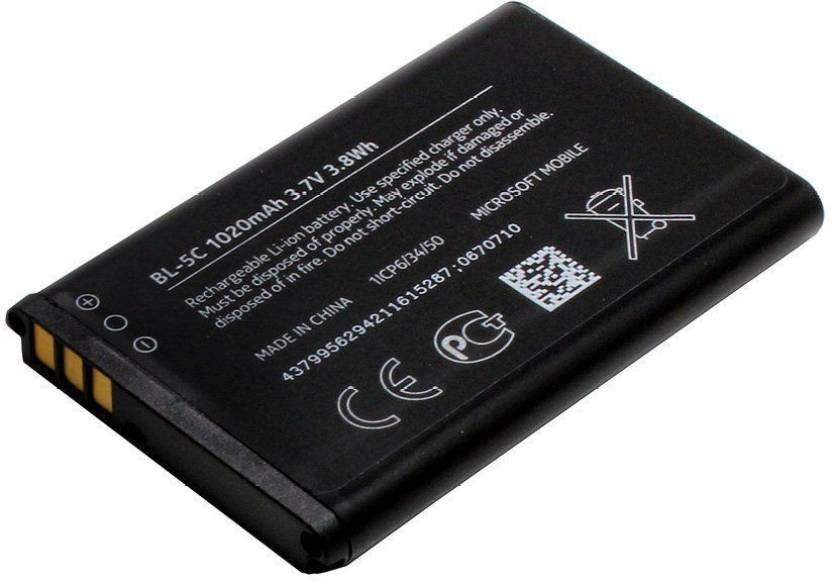 Avyana Mobile Battery For NOKIA 1100 BL-5C Price in India