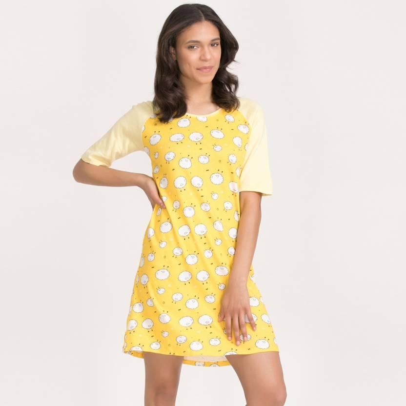 869694d4558b Zivame Women's Nightshirts - Buy Zivame Women's Nightshirts Online ...