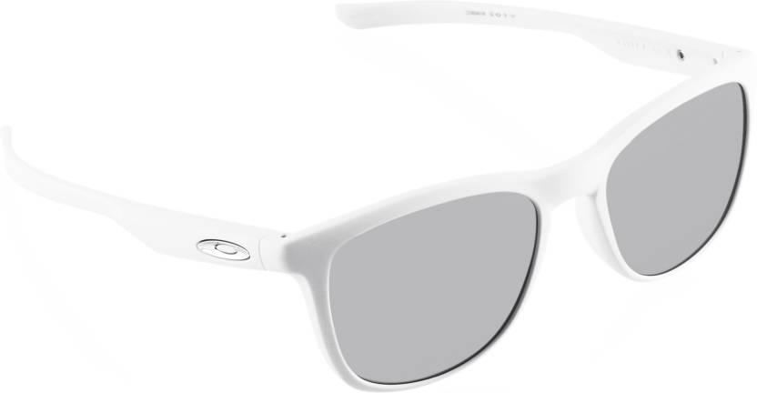 24e6fbd35c Buy Oakley TRILLBE X Wayfarer Sunglass Silver For Men Online   Best ...
