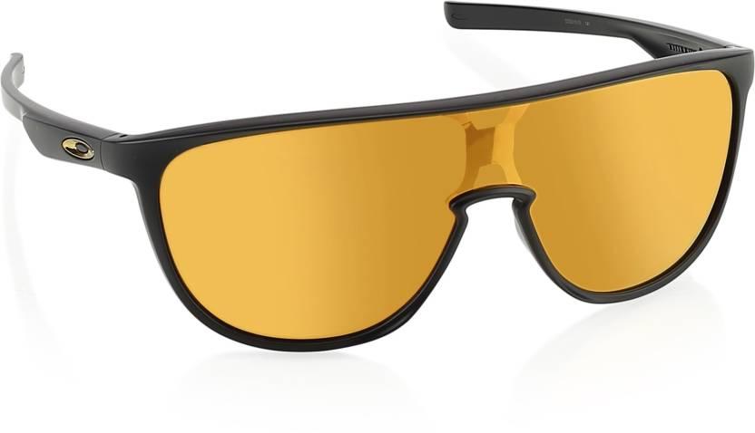 df695647782 Buy Oakley TRILLBE Shield Sunglass Orange For Men Online   Best ...