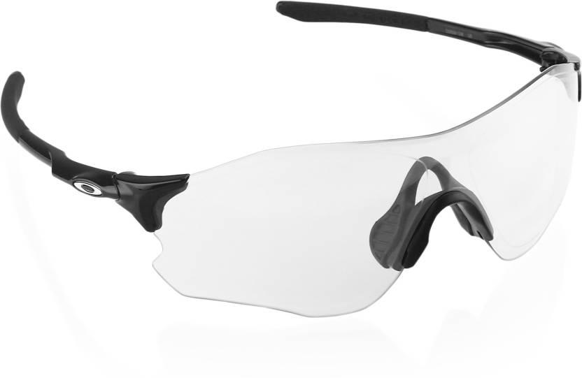 ee2bfe15ec Buy Oakley EVZERO PATH Sports Sunglass Clear For Men Online   Best ...