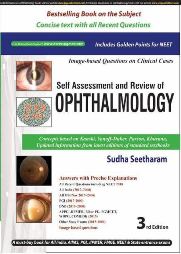 self assessment and review of ophthalmology 3rd edition 2018 by