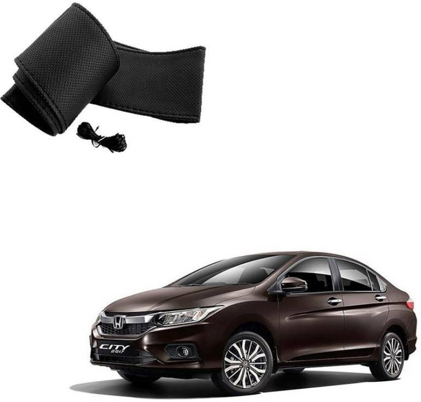 Autokraftz Hand Stiched Steering Cover For Honda City Price In India