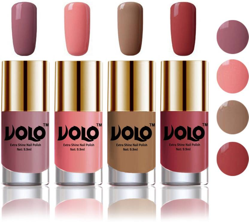 Volo HD Colors High-Shine Long Lasting Non Toxic Professional Nail ...