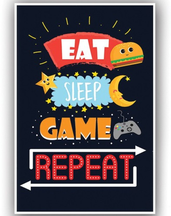 poster for room motivational gamer funny quote x inches