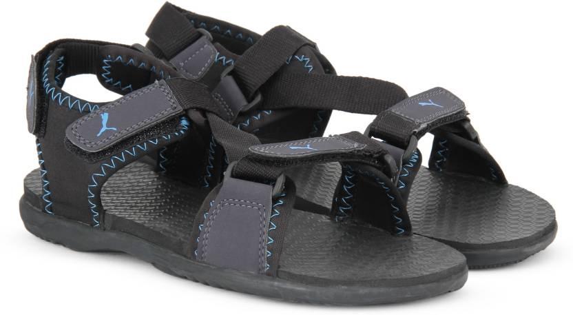 474f16573 Puma Men black-periscope-cloisonne Sports Sandals - Buy black ...