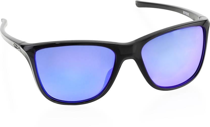 f507dc3853838 Buy Oakley REVERIE Wayfarer Sunglass Violet For Women Online   Best ...