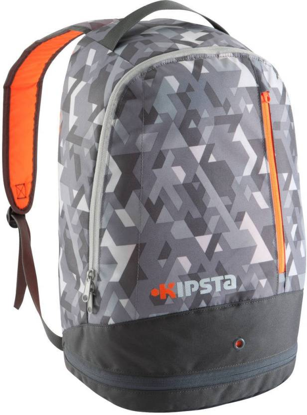 4229b0f7362 KIPSTA by Decathlon Intensive Team Sports Backpack 20 Litres 20 L Backpack  (Grey)