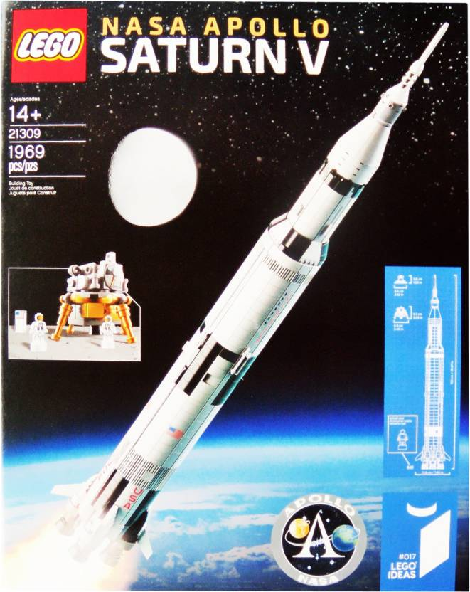 Lego Nasa Apollo Saturn V Nasa Apollo Saturn V Buy Space Rocket