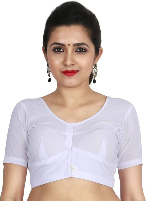 624e92f1762b7 JISB Fashion Neck Women s Stitched Blouse - Buy JISB Fashion Neck ...