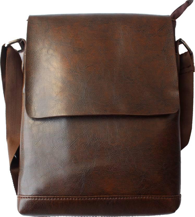 Buy JaisBoy Messenger Bag Brown Online   Best Price in India ... c204a4cec80c4